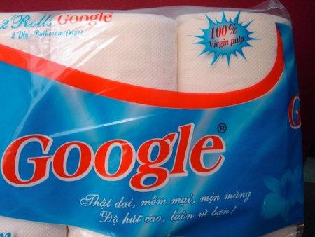 google toileteries toilet paper محصولات غیر متعارف گوگل ، که تا حالا ندیده اید