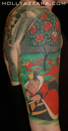 alice in wonderland tattoo 3
