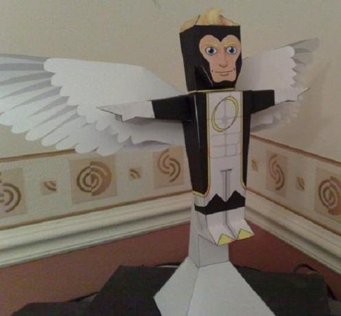 marvel papercraft angel