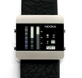 nooka zen vertical watch gift
