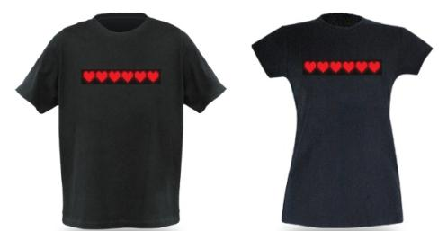 valentine's day heart t shirts
