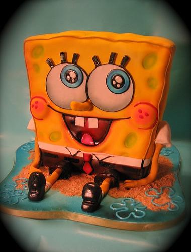 SpongeBobCake1