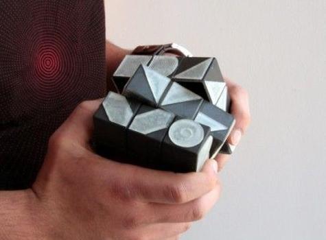 gadget rubik's cube font generator
