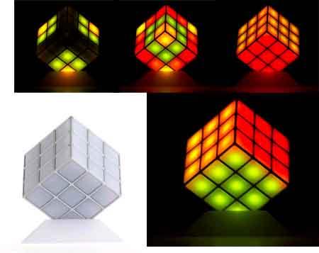 lamp rubik's cube moods
