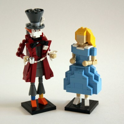 Make Lego Models of your Beloved Alice with Mad Hatter. March 17th, 2010 .
