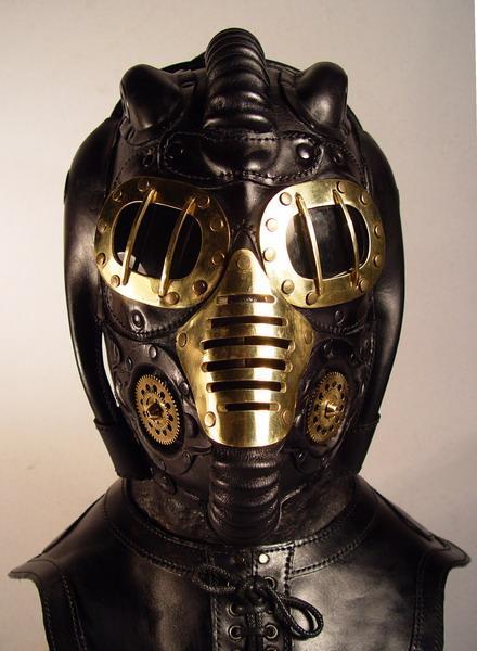 Dawn's Beauty Steampunk-metallic-mask