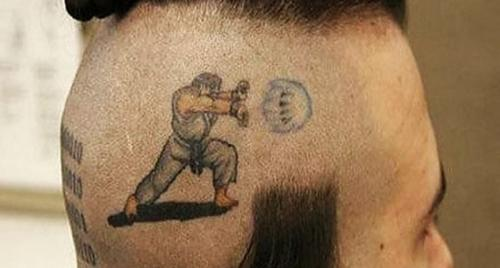 Street Fighter Tattoo