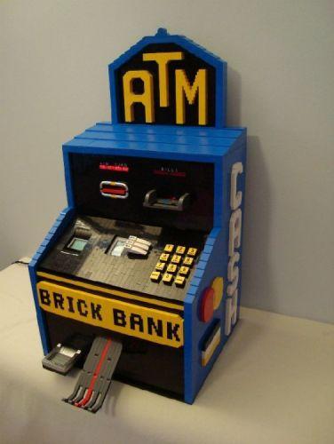 Lego ATM Machine