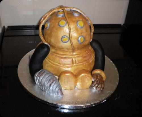 big daddy cake bioshock