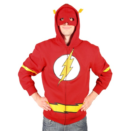 flash superhero hoodie thumbnail