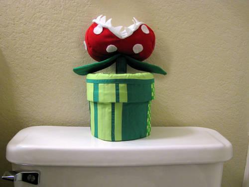 mario piranha toilet paper