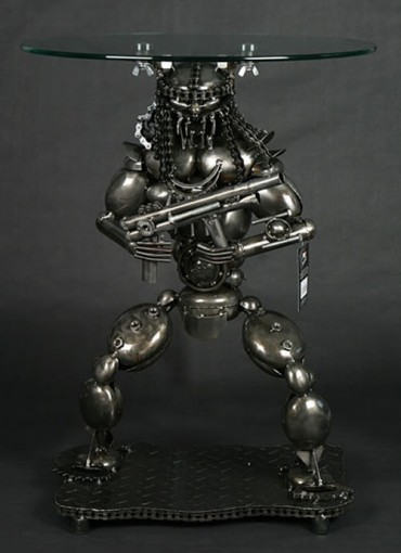 predator lamp table gun