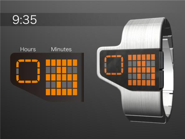 tokyoflash gridlock concept watch design 1