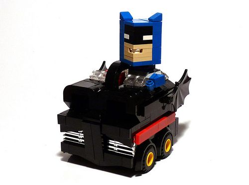 1966 batmobile remake lego boxcar