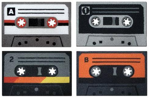 Cassette tape doormat2