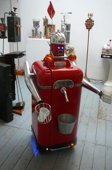 beer pouring robot chassis image