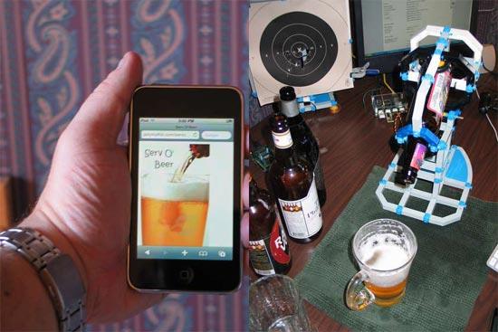 beer robot servo beer image