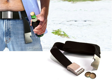 bottle opener belt fathers day beer gadgets 2010