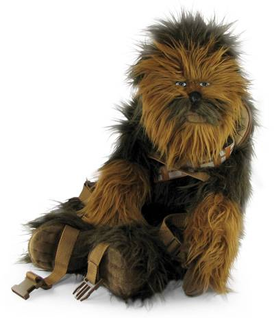 chewbacca backpack geek theme