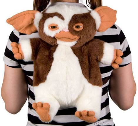 gizmo gremlins backpack geek theme