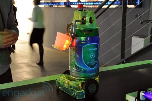 heineken beer robot image