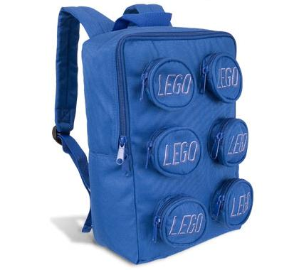 lego brick backpack geek theme