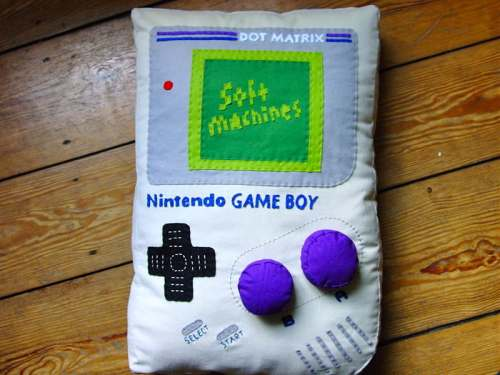 nintendo game boy pillow design
