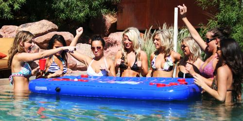 poolside beer pong fathers day beer gadgets 2010