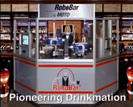 robobar beer serving robot image