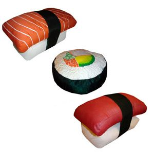 sushi combination pillows designs image