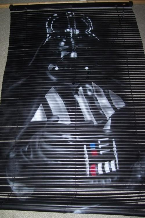 Darth Vader Blinds Shows You Its Dark Side