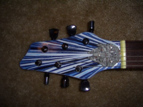 Millennium Falcon Guitar 2
