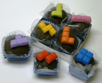 Pacman And Tetris Truffles Are Yummy For The Tummy! (2)