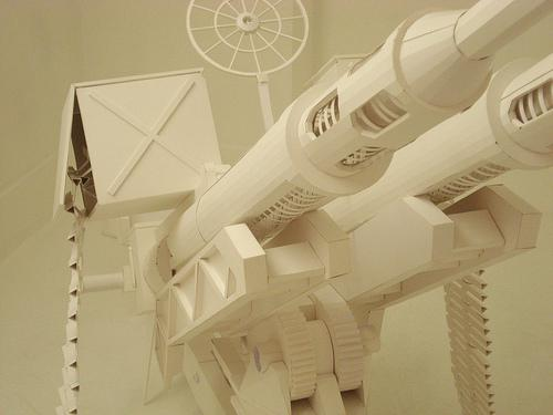 anti-aircraft gun papercraft weapons