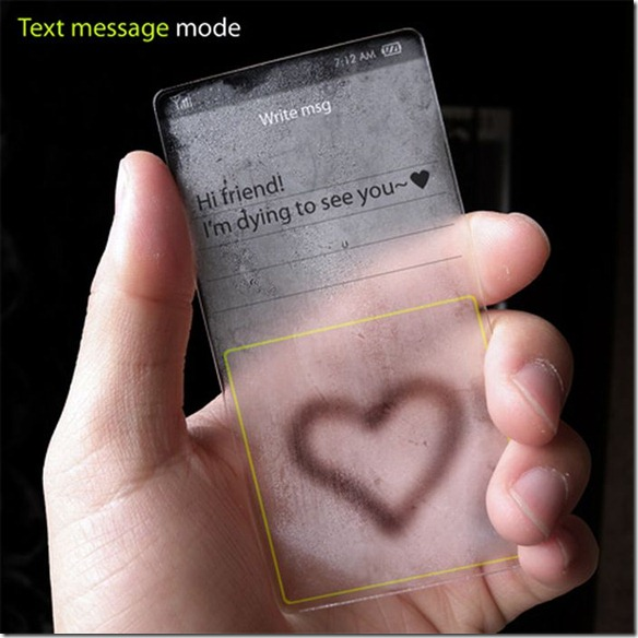 message mode windows future phone