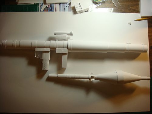 paper bazooka craft 1