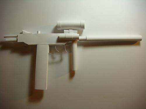 papercraft weapons craft 2