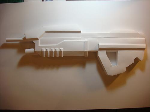 papercraft weapons craft 3