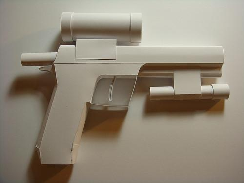 papercraft weapons craft 4
