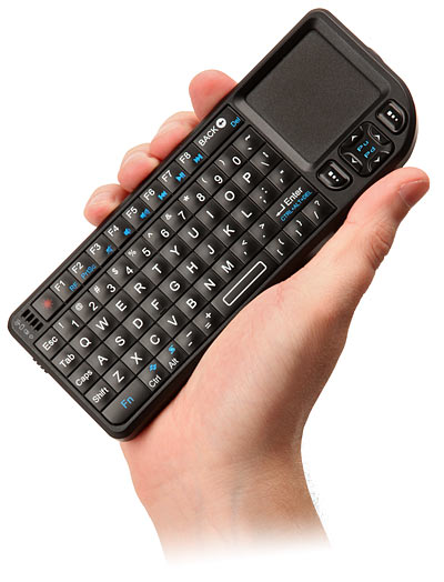 ProMini беспроводная мини клавиатура с трекпадом