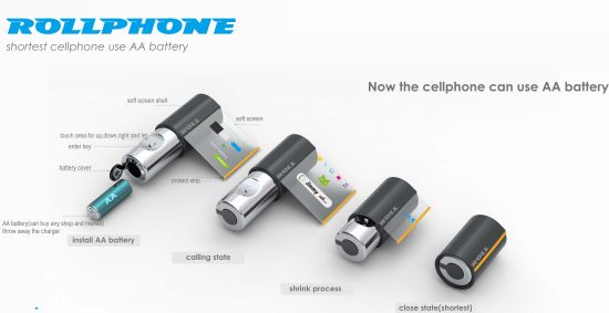 Rollphone Cell Phone Concept Brings A revolution In The Cell Phone Industry (1)