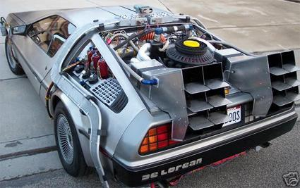 back to the future delorean mod design 1