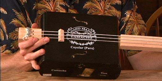 cigar box guitar mod design