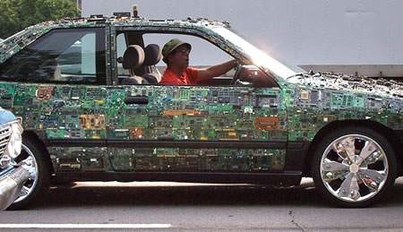 circuit board car mod design