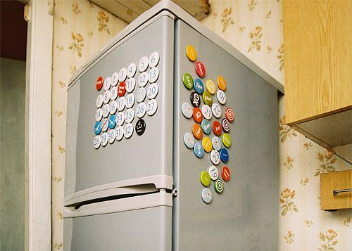 creative calendar design refrigerator magnets image 2