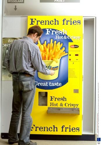 french fries vending machine image
