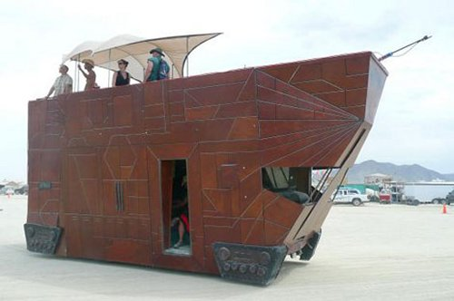 jawa sandcrawler star wars car mod 1
