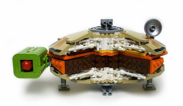 lego star wars millennium falcon burger design