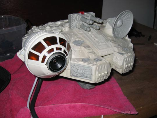 millennium falcon mac mini mod