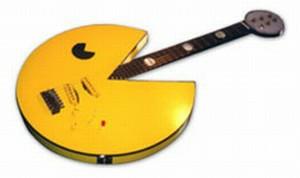 pacman guitar mod design 1